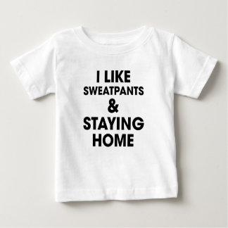 Staying Home Baby T-Shirt