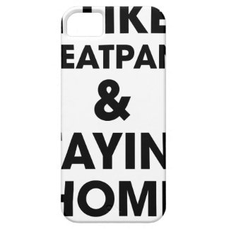 Staying Home Case For The iPhone 5