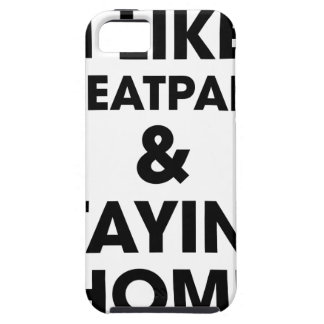 Staying Home iPhone 5 Case