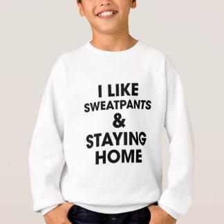 Staying Home Sweatshirt