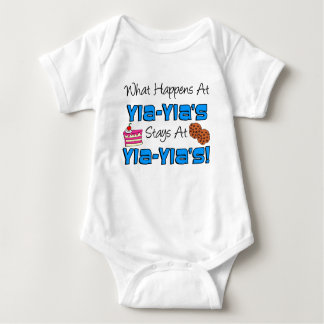 Stays At Yia-Yia's Baby Bodysuit