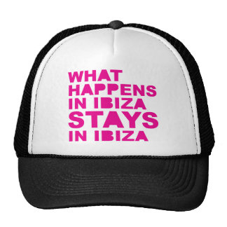 Stays In Ibiza Trucker Hat