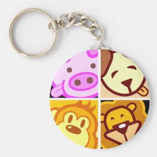 staysHappy, we all stays happy 2 Basic Round Button Keychain