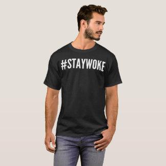 StayWoke Typography T-Shirt