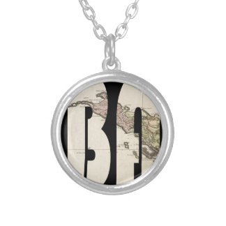 stbarts1801 silver plated necklace