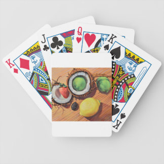 StBerry Lime Lemon Coconut Unity Bicycle Playing Cards