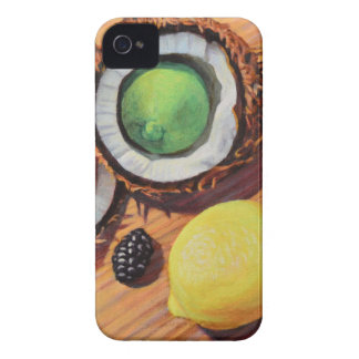 StBerry Lime Lemon Coconut Unity Case-Mate iPhone 4 Cases