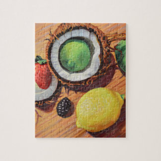 StBerry Lime Lemon Coconut Unity Jigsaw Puzzle