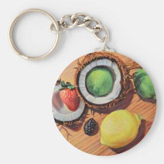 StBerry Lime Lemon Coconut Unity Keychain