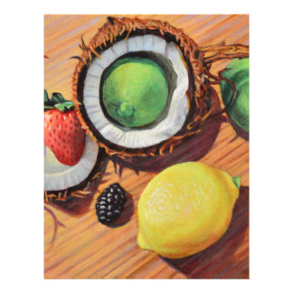 StBerry Lime Lemon Coconut Unity Letterhead