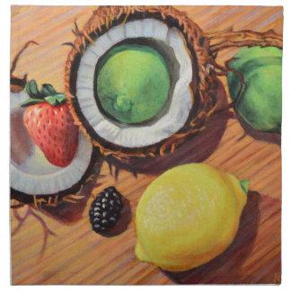 StBerry Lime Lemon Coconut Unity Napkin