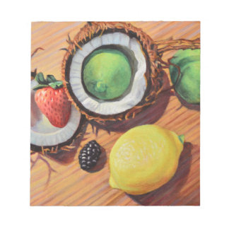 StBerry Lime Lemon Coconut Unity Notepad