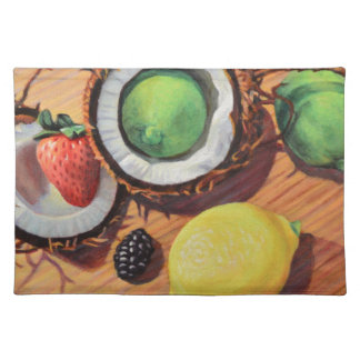 StBerry Lime Lemon Coconut Unity Placemat