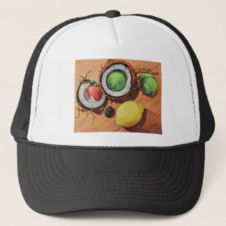 StBerry Lime Lemon Coconut Unity Trucker Hat