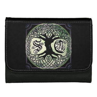 STC Blacki Leather Trifold Wallets For Women