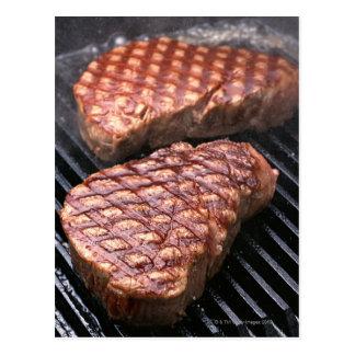 Steak 2 postcard