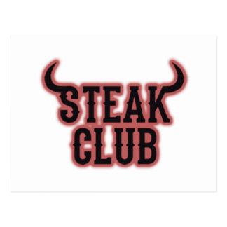 Steak Club Postcard