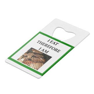 STEAK CREDIT CARD BOTTLE OPENER