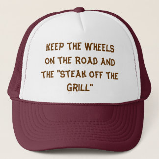 """Steak off the Grill"" Trucker Hat"