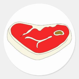 Steak Sticker