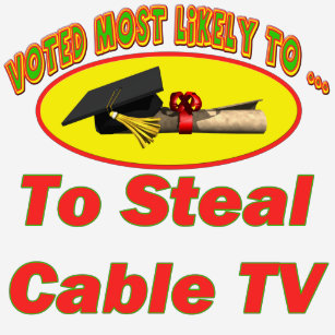 Cable Tv T-Shirts & Shirt Designs   Zazzle ca