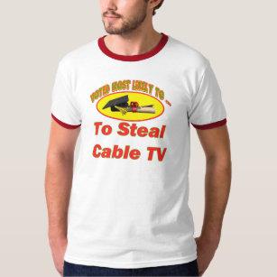 Cable Tv T-Shirts & Shirt Designs | Zazzle ca