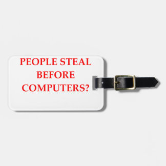 STEAL LUGGAGE TAG