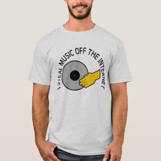 STEAL MUSIC INTERNET T-Shirt