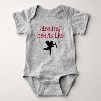 Stealing Hearts like Cupid Baby Bodysuit