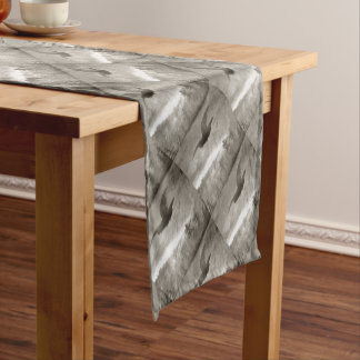 Stealth And Surprise Of The Night Owl Short Table Runner