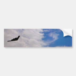Stealth Bomber Bumper Sticker