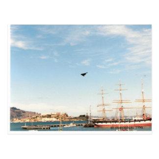 Stealth Bomber  (c) chancephoto 1996 Postcard