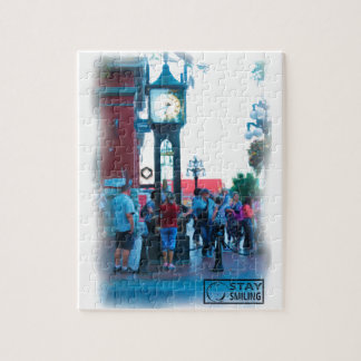 Steam Clock Jigsaw Puzzle