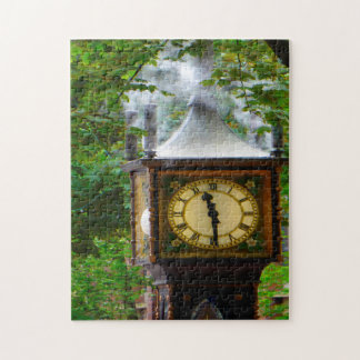Steam Clock Vancouver. Jigsaw Puzzle