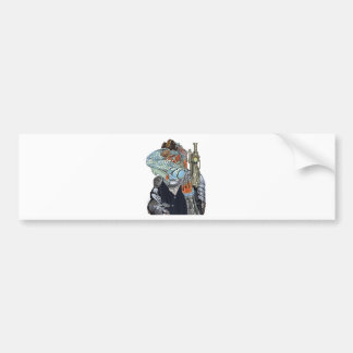 Steam Dragon Sheriff Bumper Sticker