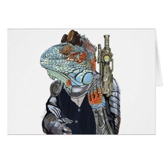 Steam Dragon Sheriff Card