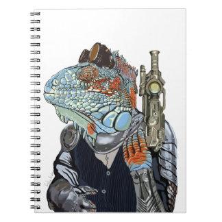 Steam Dragon Sheriff Notebooks