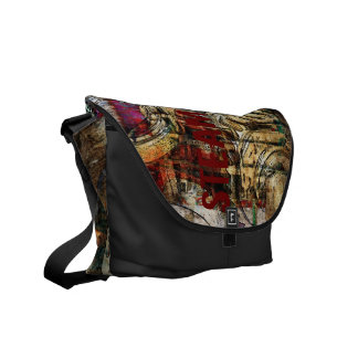 steam dream industrial steampunk collage courier bags