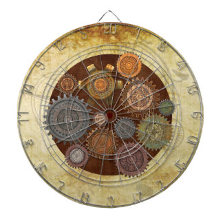 Steam Elegance Steampunk Dartboard