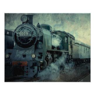 Steam Engine 1009 Photo Print