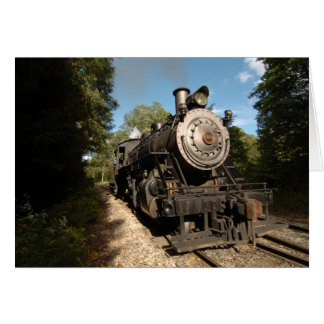 Steam Engine 40 Card