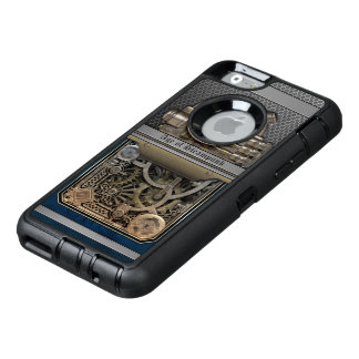 Steam Engine.Age of Steampunk. OtterBox Defender iPhone Case