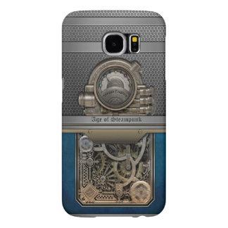 Steam Engine.Age of Steampunk. Samsung Galaxy S6 Cases