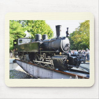 Steam engine, France Mouse Pad
