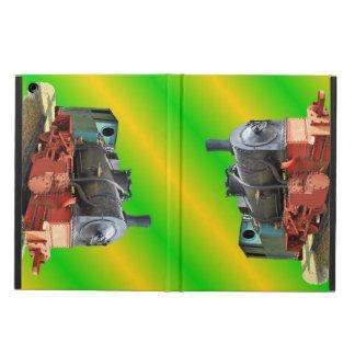 Steam engine iPad air case
