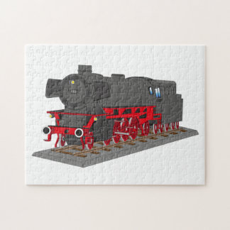 Steam engine jigsaw puzzle