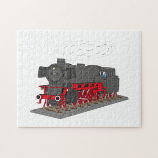 Steam engine jigsaw puzzle