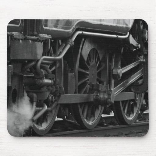 Steam Engine Locomotive Train Gifts Mousepads