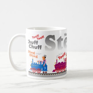 Steam Engine Mug
