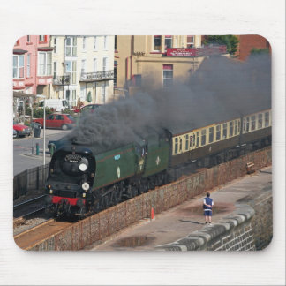 Steam Engine Tangmere 34067 Mouse Pad